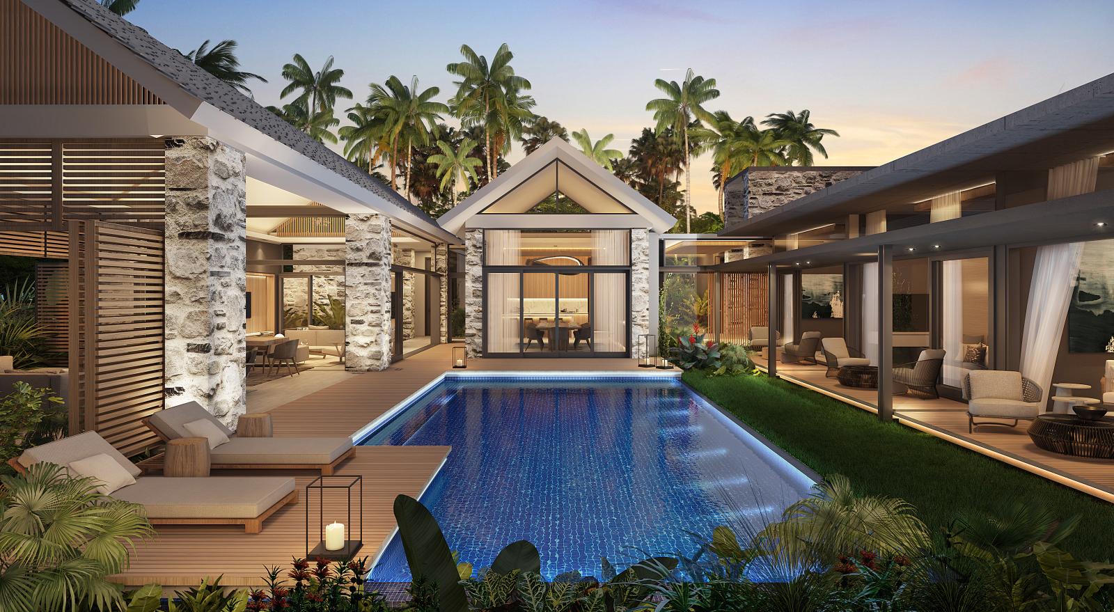 Maison villa achat vente grand baie 126 727 166 rupees lexpress property - Difference entre villa et maison ...