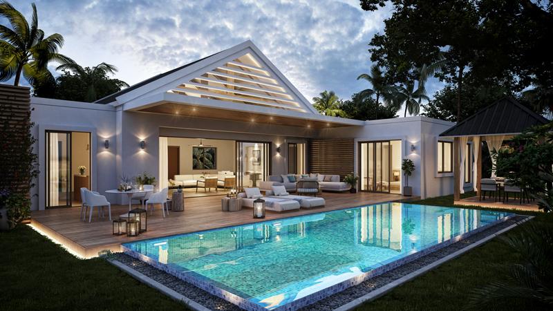 KI Villas available in a prime location in Grand Baie