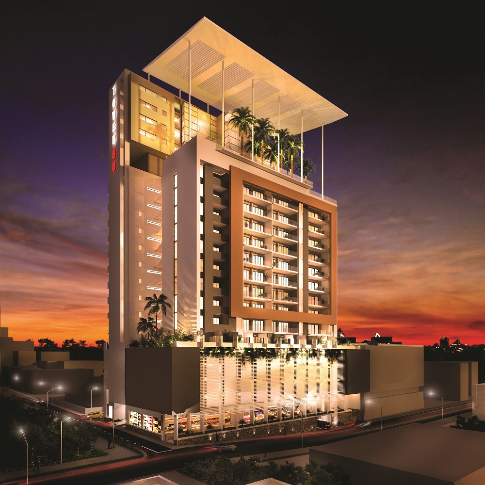 Tower 88: An exclusive offer for studios and penthouses - Lexpress ...