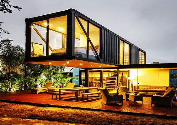 inspiration container house lexpress property. Black Bedroom Furniture Sets. Home Design Ideas